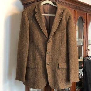 J Crew Yorkshire Tweed Blazer 42L